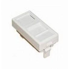 Вставка 22,5*45 мм для 1 модуля типа KeyStone (Nikomax)